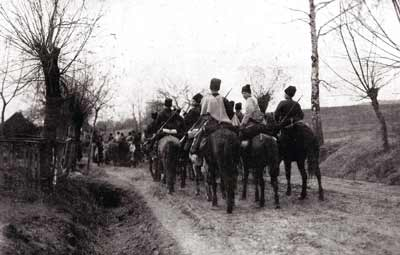 Russian Cossacks at the time of the First World War