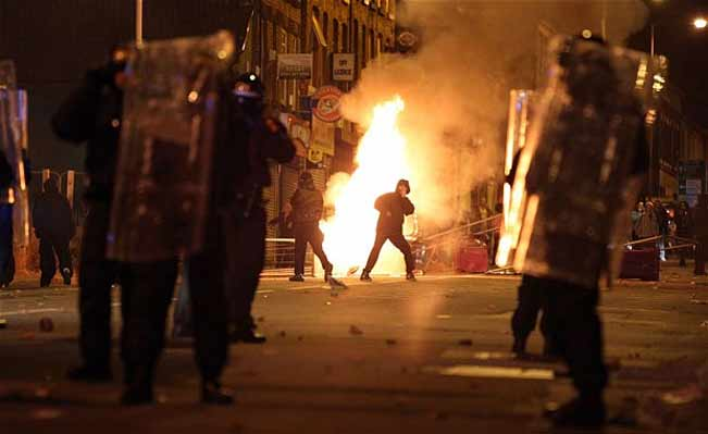 Toxteth riots 2011