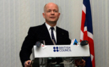 William Hague addressing the British Council on Syria