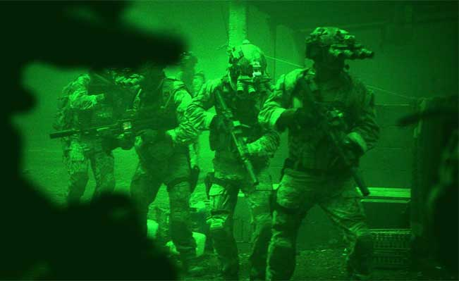 Zero Dark Thirty scene