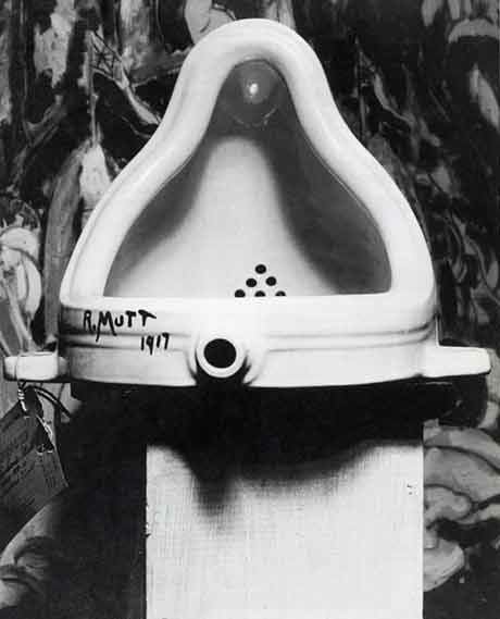 Duchamp's urinal