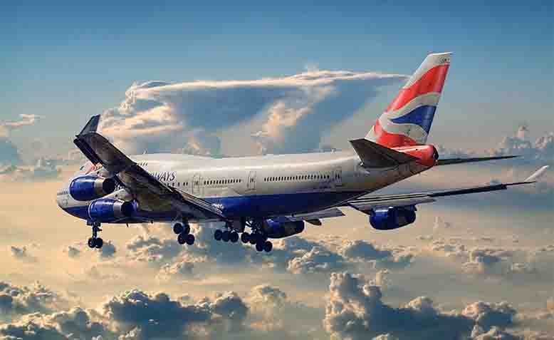 British Airways Boeing 747-400. Photo: WIkipedia