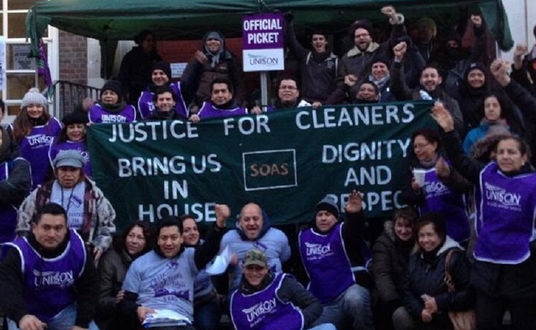 Photo: SOAS Justice for Workers