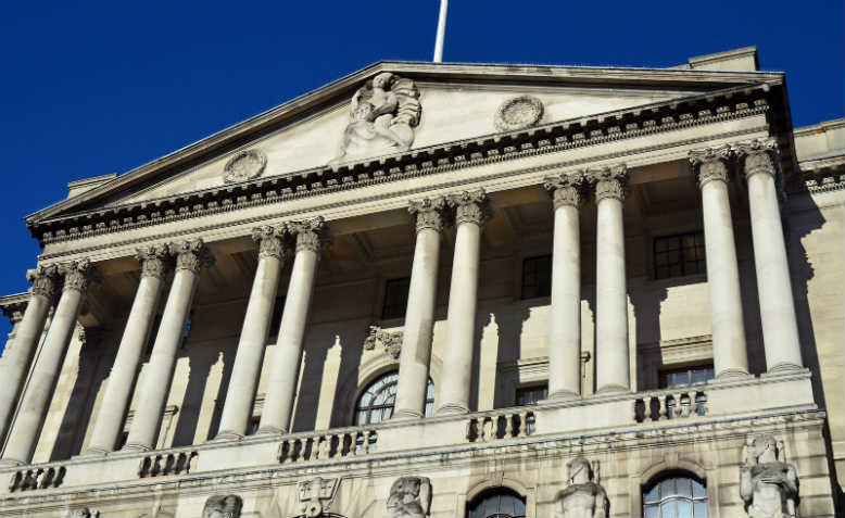 Bank of England, Threadneedle Street. Photo: Flickr/George Rex