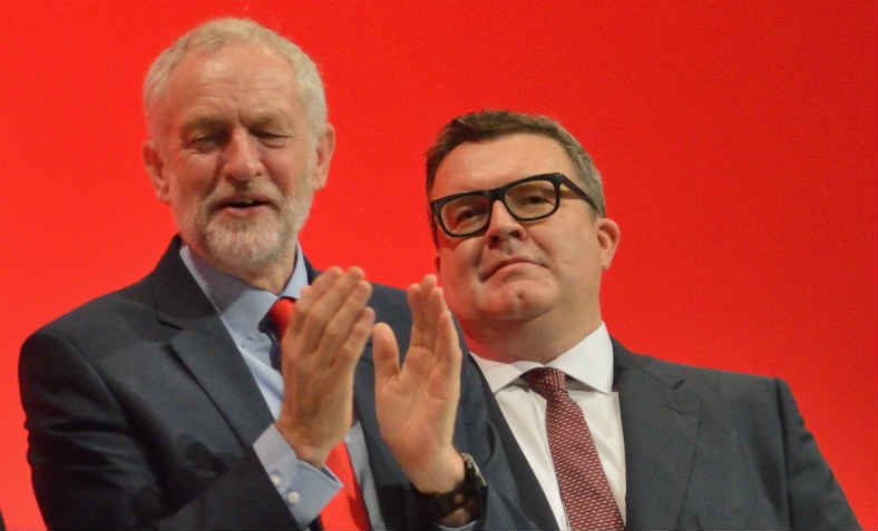 Jeremy Corbyn and Tom Watson, Labour Party Conference, 2016. Photo: wikimedia commons