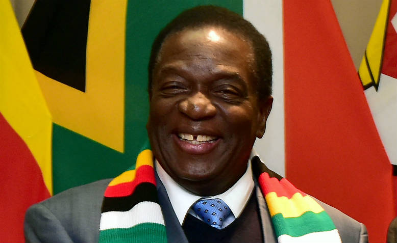 President-elect Emmerson Mnangagwa. Photo: Flickr/GovernmentZA
