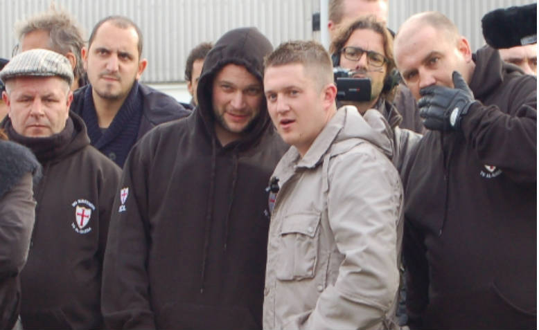 Tommy Robinson. Photo: Wikimedia Commons