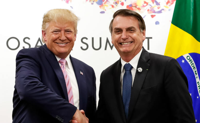 Bolsonaro and Trump. Photo: Wikimedia Commons