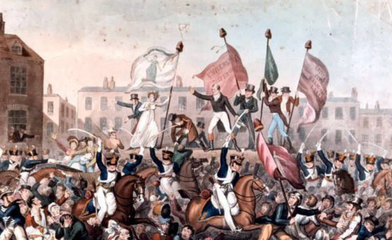 The Peterloo Massacre. Photo: Wikimedia Commons