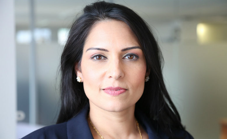 Priti Patel. Photo: Flickr/DFID