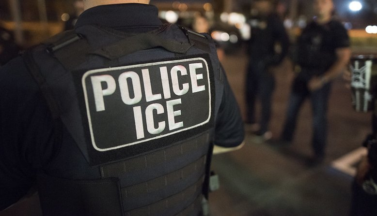 ICE Immigration Agent, Photo: Flickr