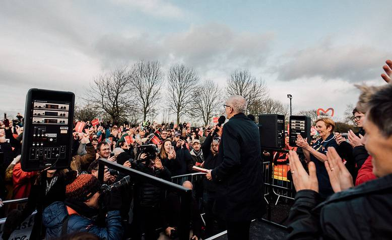 Jeremy Corbyn in Middlesbrough. Photo: Jeremy Corbyn / Flickr / cropped from original / licensed under CC 2.0, links at the bottom of article