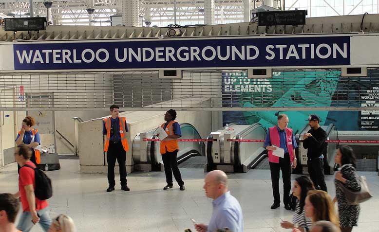 Underground Station, Photo: Rachel H / cropped from original / licensed under CC BY 2.0, linked at bottom of article
