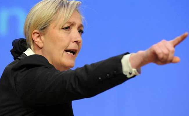 Le Pen's Front National failed to win a single region in second round of voting. Photo: Abd allah Foteih