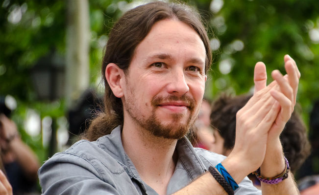 Pablo Iglesias, leader of Podemos. Source: Wikimedia