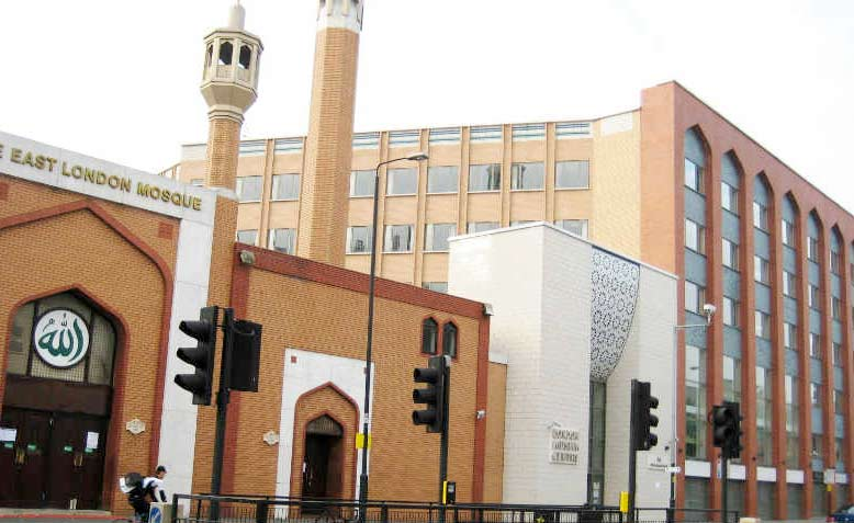 East London Mosque and London Muslim Centre. Photo: Wikimedia Commons