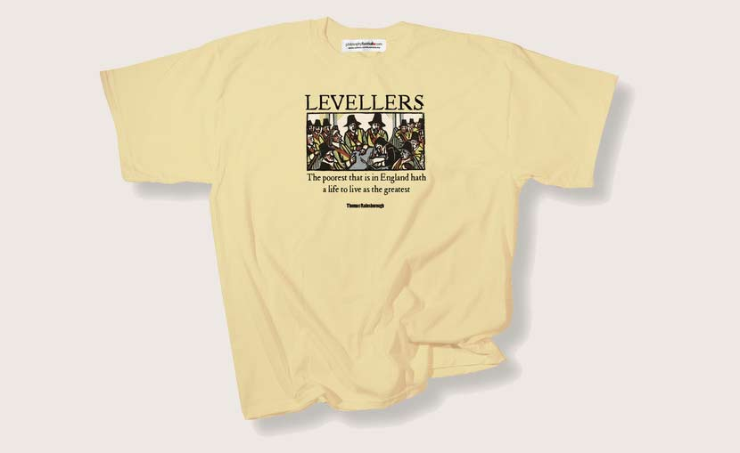 Leveller T-shirt available from Philosophy Football