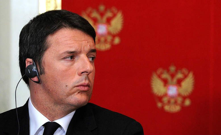 Matteo Renzi in Moscow, 2015. Photo: The Kremlin