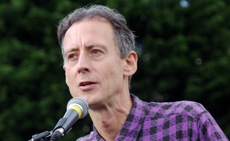 Peter Tatchell. Photo: Wikimedia Commons