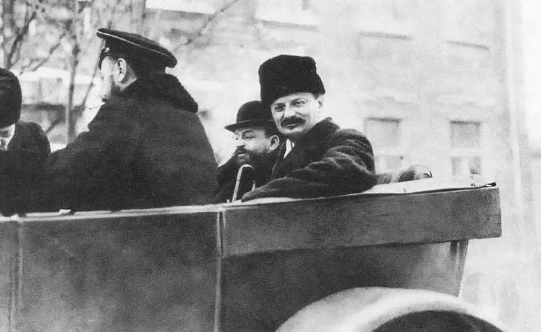 Leon Trotsky in 1918. Photo: Wikimedia Commons