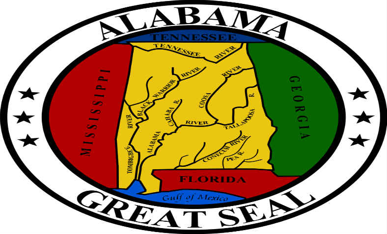 Seal of Alabama: wikimedia commons