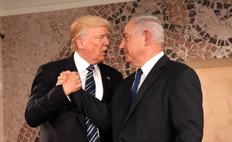 Trump and Netanyahu, May 2017. Photo: Wikimedia Commons