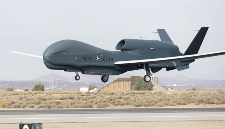 NATO drone. Photo: US Air Force