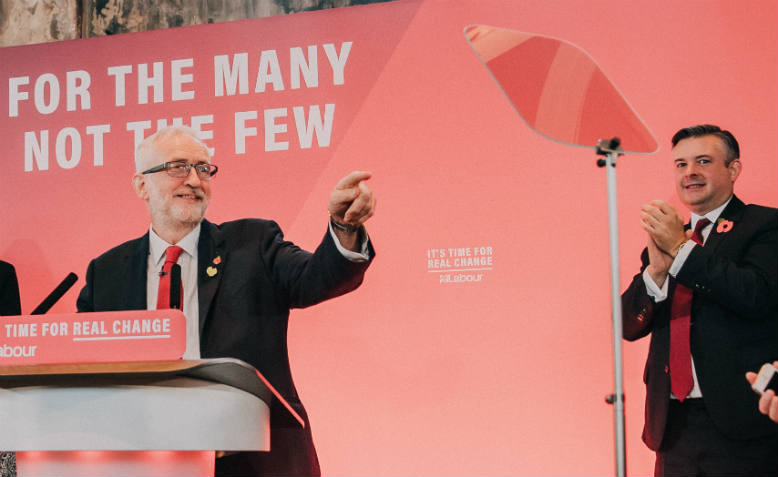 Jeremy Corbyn, Jon Ashworth. Photo: Flickr/Jeremy Corbyn