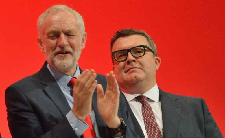 Jeremy Corbyn and Tom Watson, Labour Conference, 2016. Photo: wikimedia commons
