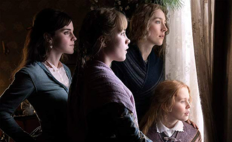 Little Women promotional shot. Photo: Wilson Webb/Columbia Pictures