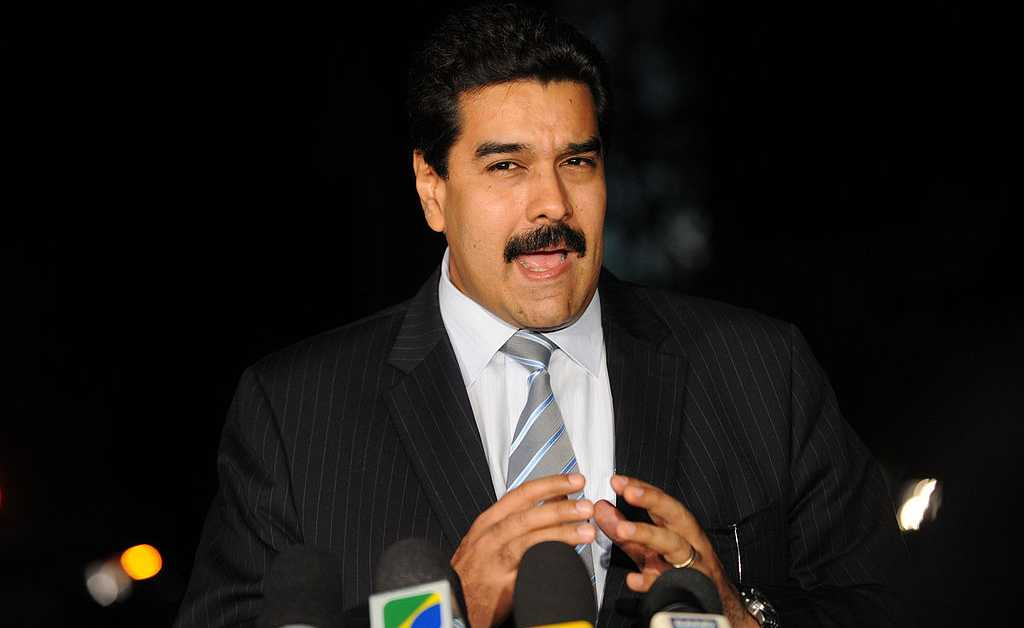 Nicolás Maduro in Brazil. Photo: Agência Brasil/cropped from original/licensed from CC3.0, linked at bottom of article