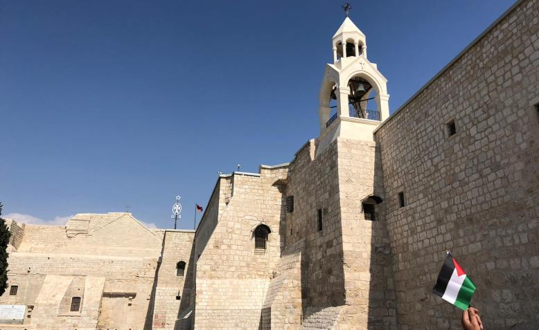 Church of the Nativity, Bethlehem, West Bank. Photo: Shabbir Lakha