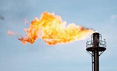 Climate - gas flare