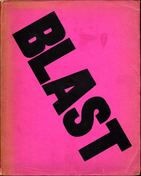 Blast issue 1 front cover