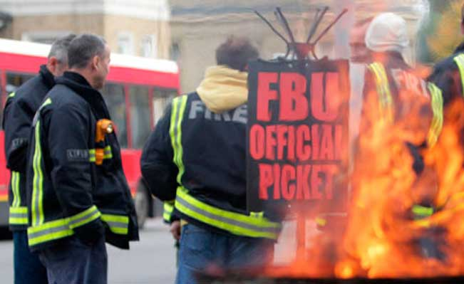 FBU on strike