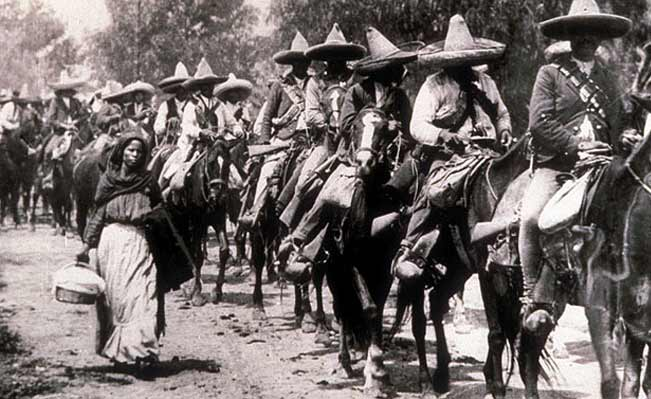 Revolutionary campesinos on the move
