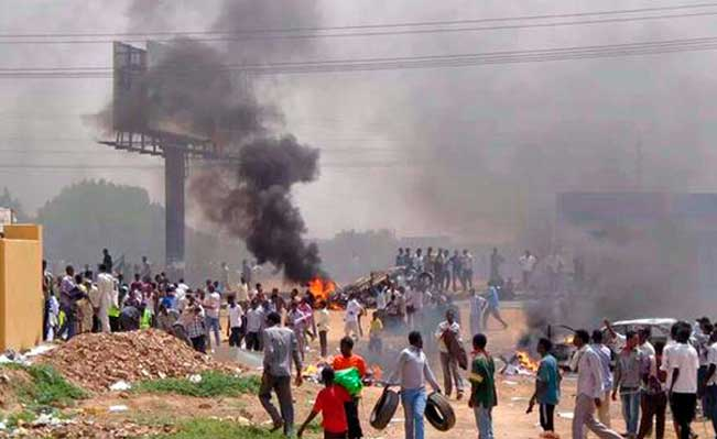Sudan Oil Riots