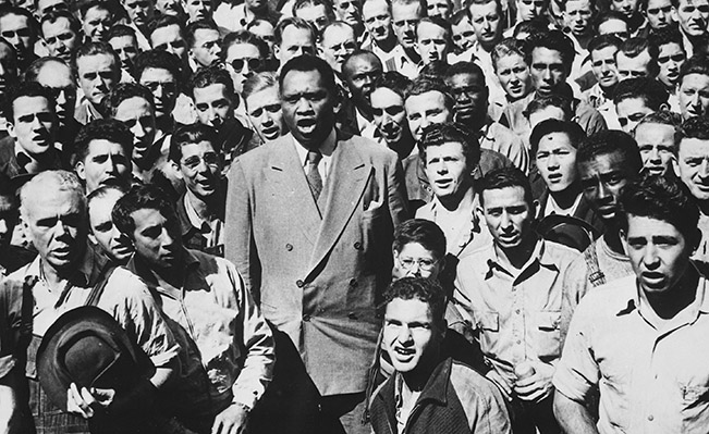 Born in 1898, Paul Robeson was an activist, athlete, actor and singer. Source: Wikimedia