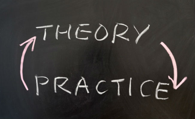 The dialectic of theory and practice