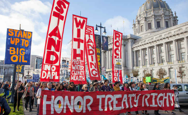 Stand with Standing Rock protest in San Francisco, November 2016. Photo: Wikimedia Commons