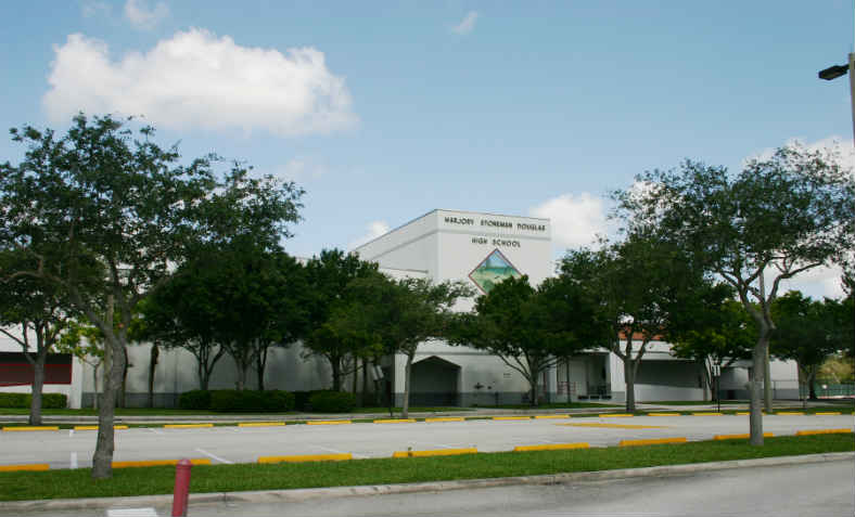 Marjory Stoneman Douglas High School: Photo: Wikimedia Commons