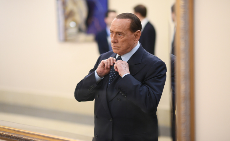 Silvio Berlusconi at EPP Congress in 2017. Photo: Wikipedia