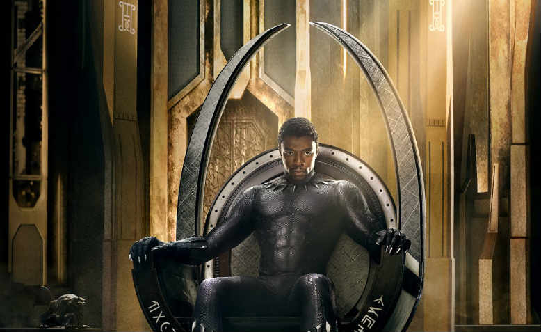 T'challa, played by Chadwick Boseman in the film Black Panther. Photo: Marvel Studios