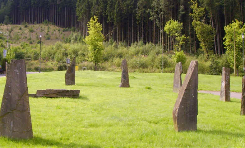 Gorsedd Stones: Photo: Wikimedia Commons