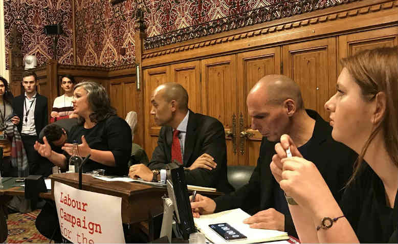 "Launch of ""Busting the Lexit Myths"" in Parliament. Photo: Youtube"