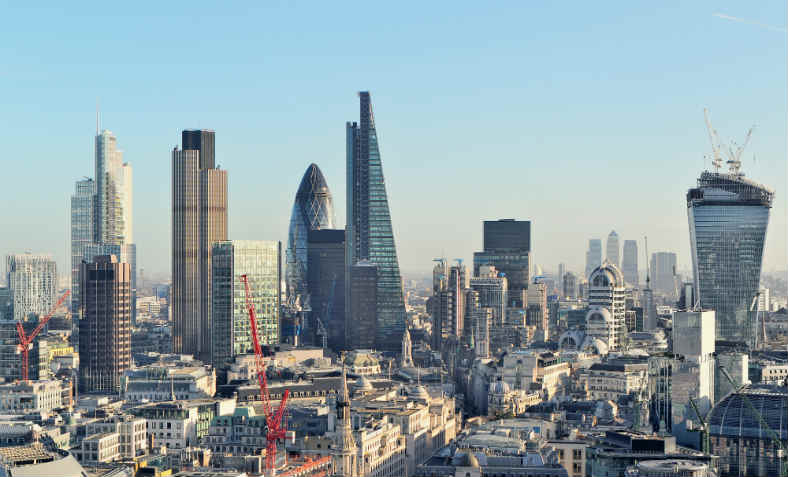 The City of London: photo: Wikimedia Commons