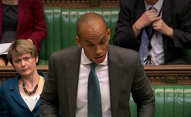 Chuka Umunna in the House of Commons. Photo: Wikimedia Commons