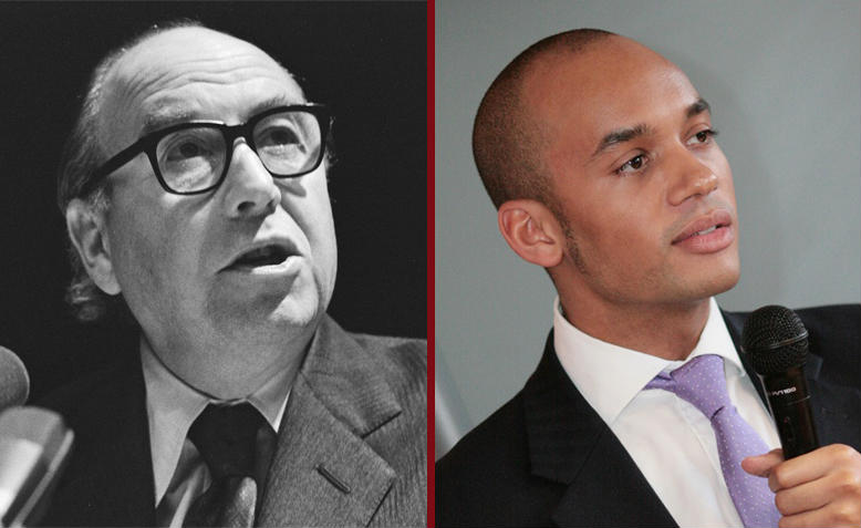 Roy Jenkins and Chuka Umunna. Photos: Wikimedia Commons