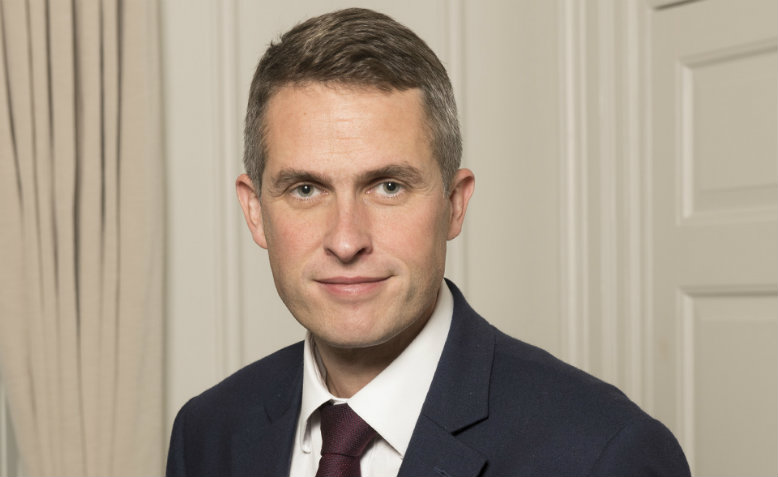 Gavin Williamson. Photo: Flickr/Number10