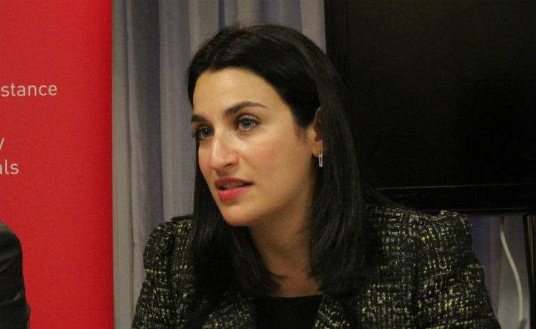 Luciana Berger. Photo: Flickr/Policy Exchange